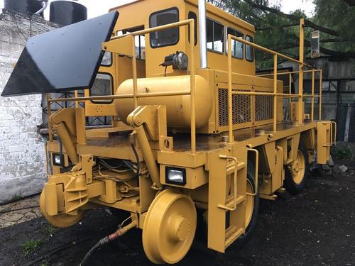 tractor ferroviario (trackmobile) shuttlewagon reconstruido.