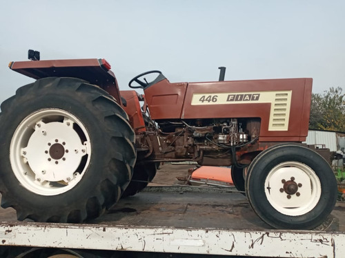 tractor fiat 446 50 hp cabina opcional