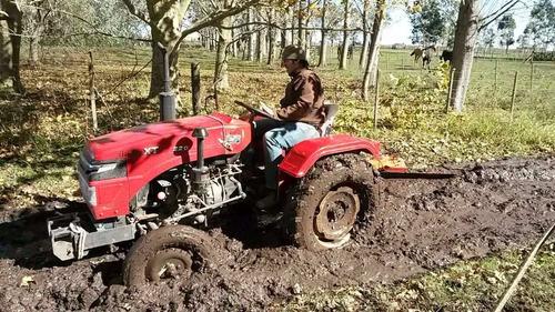 tractor first tres puntos-toma de fuerza-salida hid