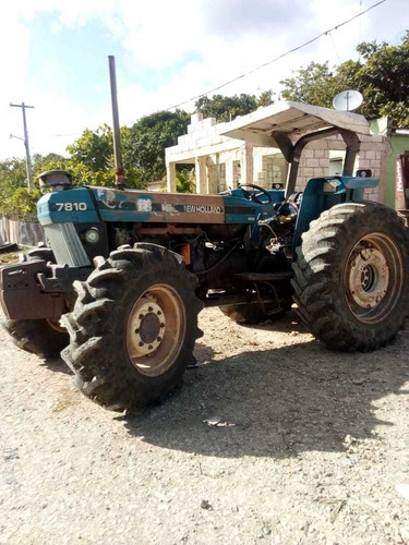 tractor ford 7810 equipo completo