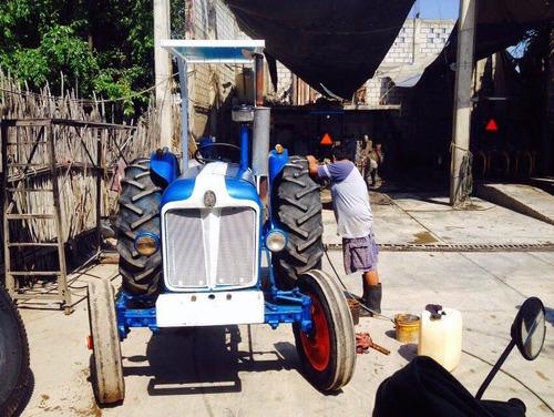 tractor fordson-major diesel agricola funcionando al 100%