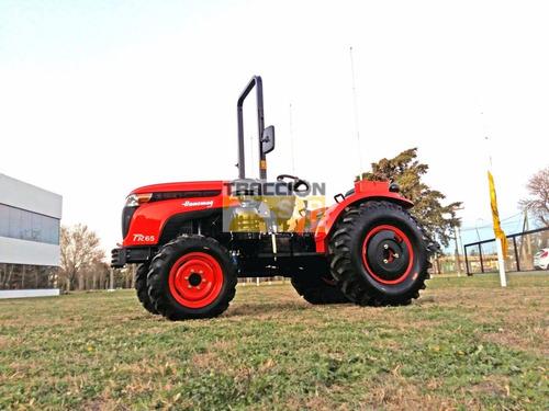 tractor frutero fr 65 4x4 hanomag nuevo 60hp ultra lenta