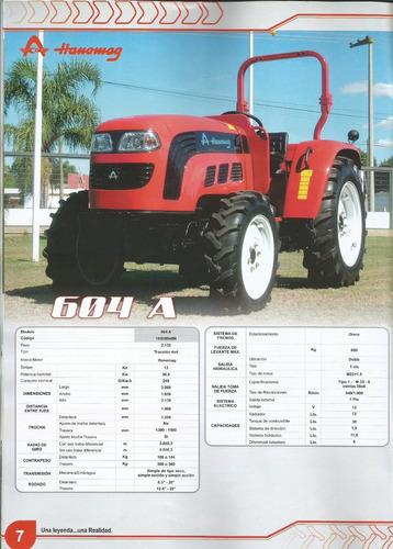 tractor hanomag 604 a 2017 precio final