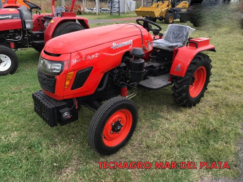 tractor hanomag parquero stark 25 hp