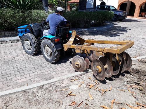 tractor huertero bcs 4x4 pequeño compacto