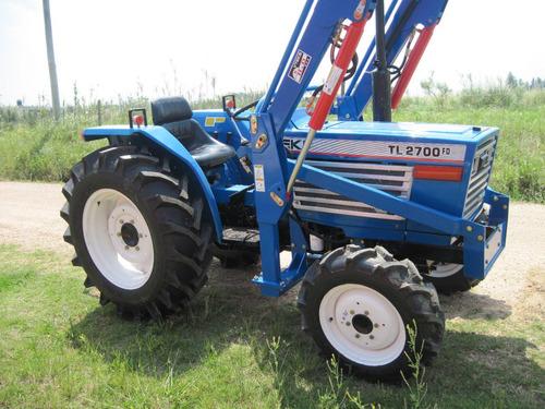 tractor iseki tl2700 4x4 con pala nueva !!!!!!