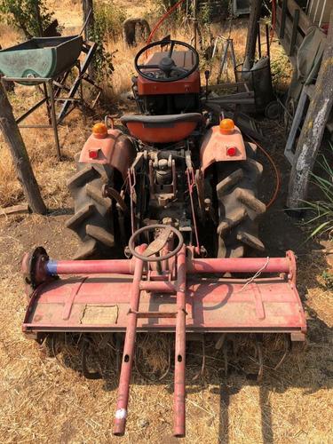 tractor japonés shibaura