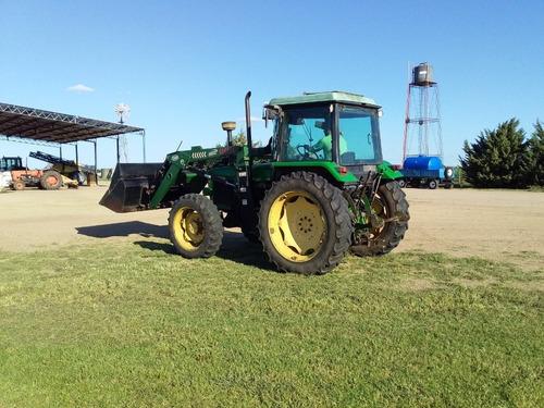 tractor jhon deere 2850 c/pala