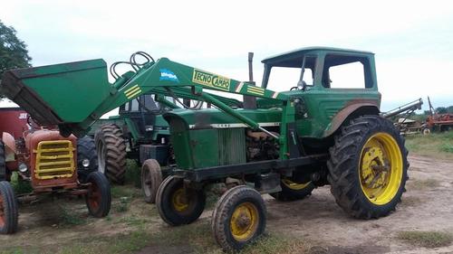 tractor john deere 2420 con pala frontal.