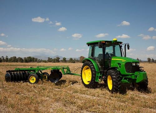 tractor john deere 4x4 cabina o techo 90hp