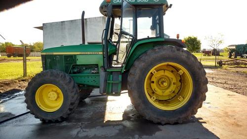 tractor john deere 6600 doble tracción rodado dual