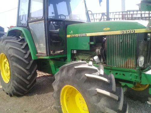 tractor john deere 6600  gomas al 70%      tpea