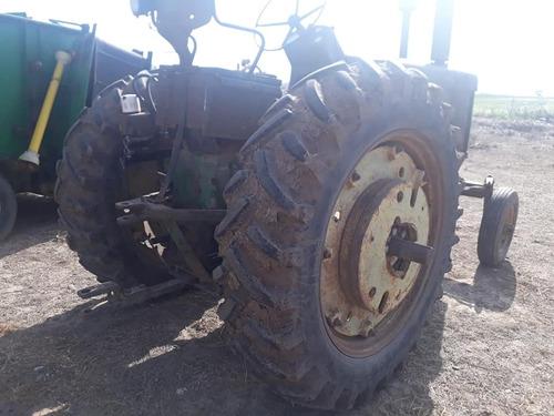 tractor john deere 730. toma fuerza y control hidráulico.-