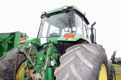 tractor john deere 7600 # 12722
