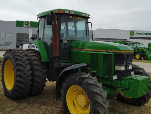 tractor john deere 7800, 200hp, cabinado, 1998