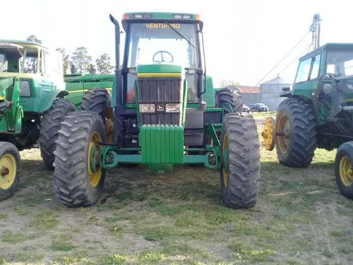 tractor john deere 7800, 200hp,tracción doble,c/duales,1995