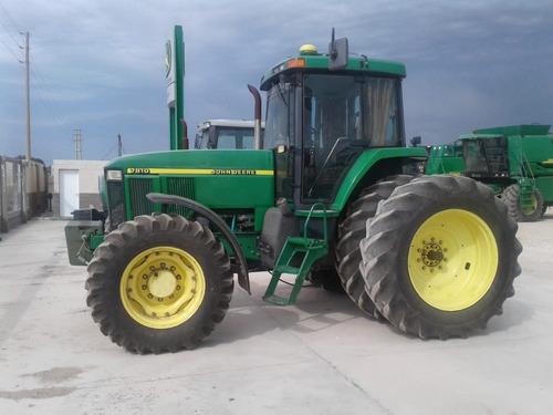 tractor john deere 7810, año 1998