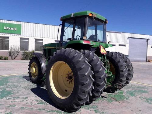 tractor john deere 7810, año 2000.