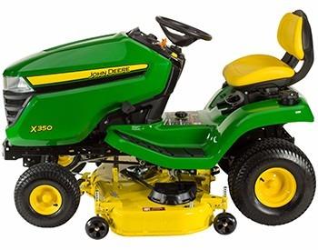 tractor john deere x350 18.5hp  motor kawasaki