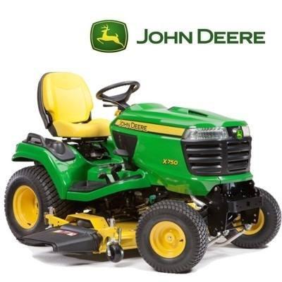 tractor john deere x750