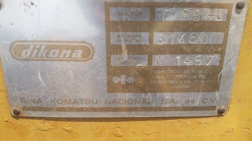 tractor komatsu d65-a6