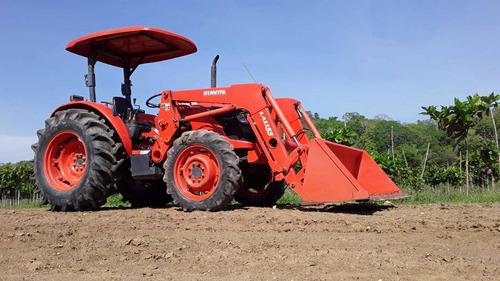 tractor kubota m7040 mod. 2017 - unico dueño