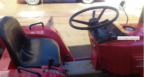tractor, marca shibaura, modelo  sp1540, con rotocultor