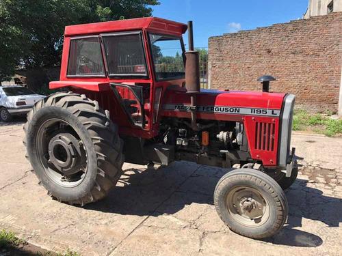 tractor massey ferguson 1195s cabina, rodado 18-4-38