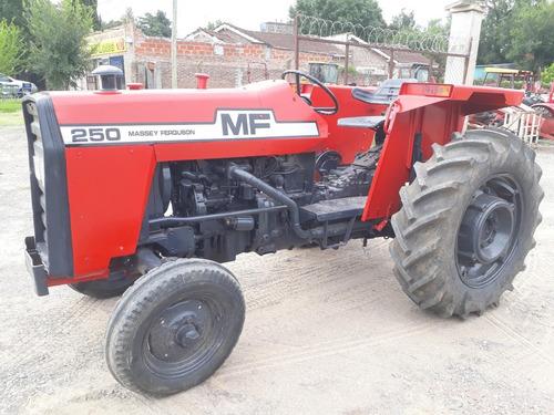 tractor massey ferguson 250 con tres puntos usado