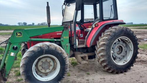 tractor massey ferguson 290 con pala john deere 540