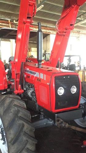 tractor massey ferguson mf 290 ra con pala