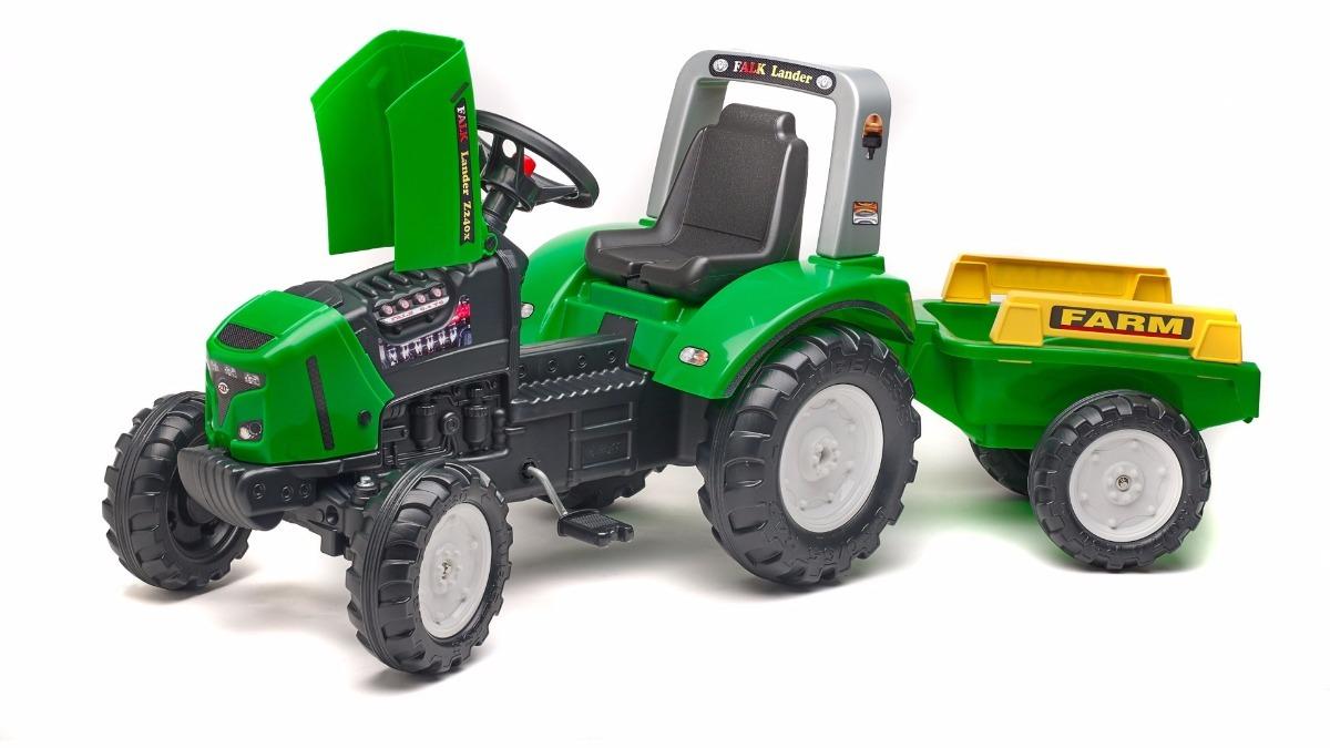 Tractor Juegos Pedales Falk Y Tractores Juguetes Remolques shrQCtd