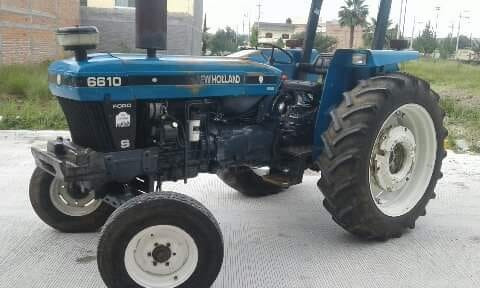 tractor new holand 6610