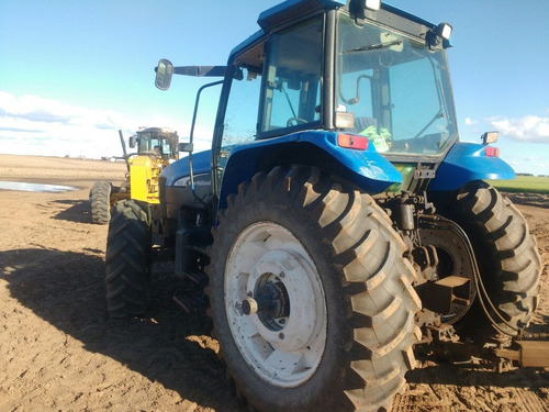 tractor new holland 4x4 125 hp