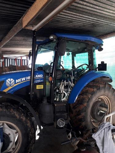 tractor new holland d5 80 turbo int. con aire acondicionado