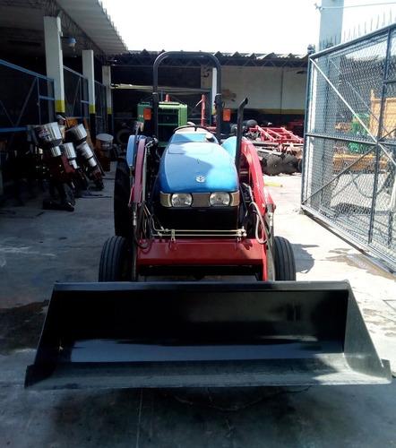 tractor new holland seminuevo workmaster 45 con pala