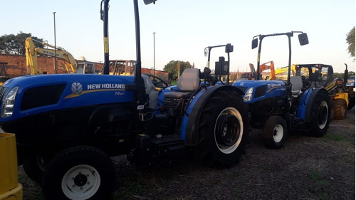 tractor new holland t4.65v -  2wd