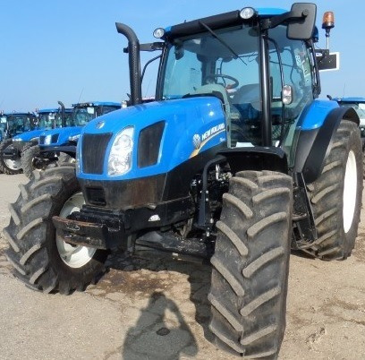 tractor new holland t6.130 (134cv) turbo