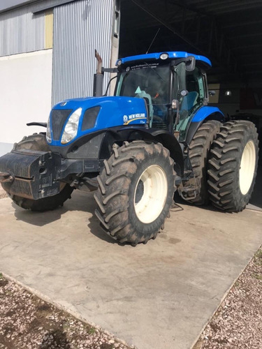 tractor new holland t7.245 - usado -