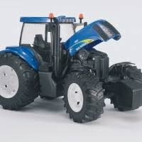 tractor new holland t8040 escala 1:16 bruder