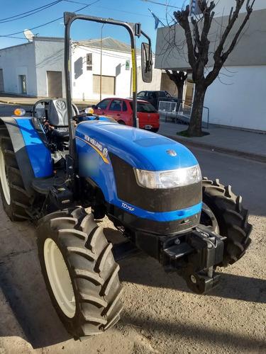 tractor new holland td75f 170 horas de uso