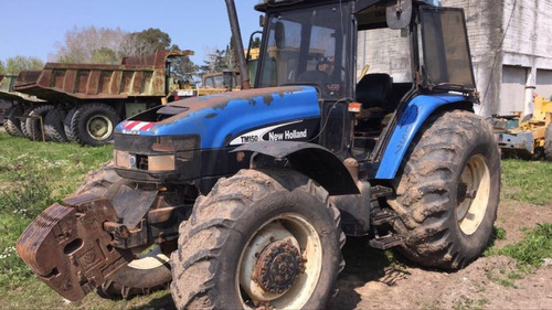 tractor new holland tm150 4x4 año 2004 c/13.586 horas de uso