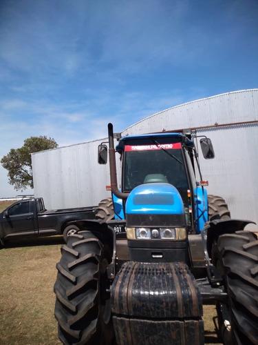 tractor new holland tm180 - piloto automático - año 2007