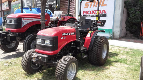 tractor parquero 26 hp diesel doble tracción ideal parques