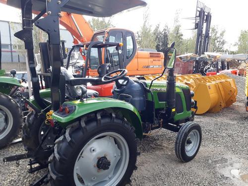 tractor parquero 4x4 chery tipo jdeere c/ desmalezadora