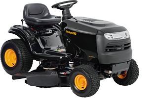 tractor poulan pro con motor b&s de 15,5 hp