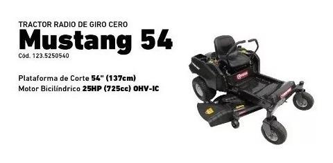 tractor troy bilt  radio de giro cero  mustang 54