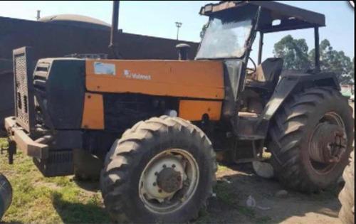 tractor valmet 1180 4x4 funcionando remate jueves 20/2