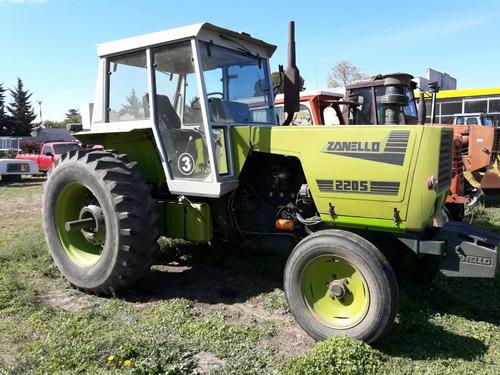 tractor zanello 220m motor mwm 120 hp impecable