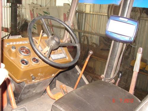 tractor zanello 4-200. articulado. con hoja para desmonte